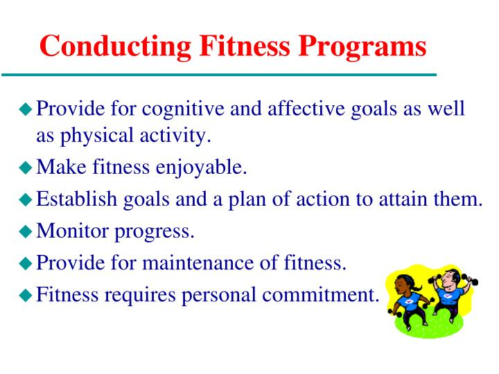 Conducting Fitness Programs