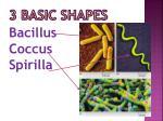 3 basic shapes