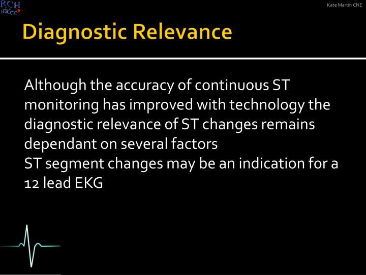 Diagnostic Relevance