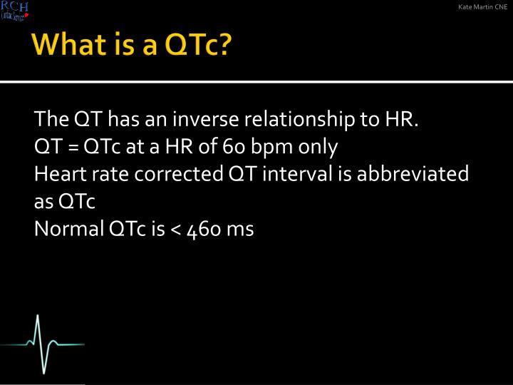 What is a QTc?