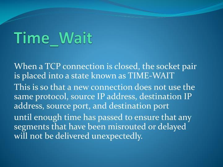 Time_Wait