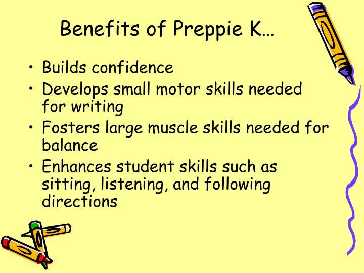 Benefits of Preppie K…