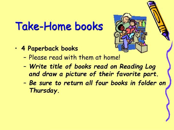 Take-Home books