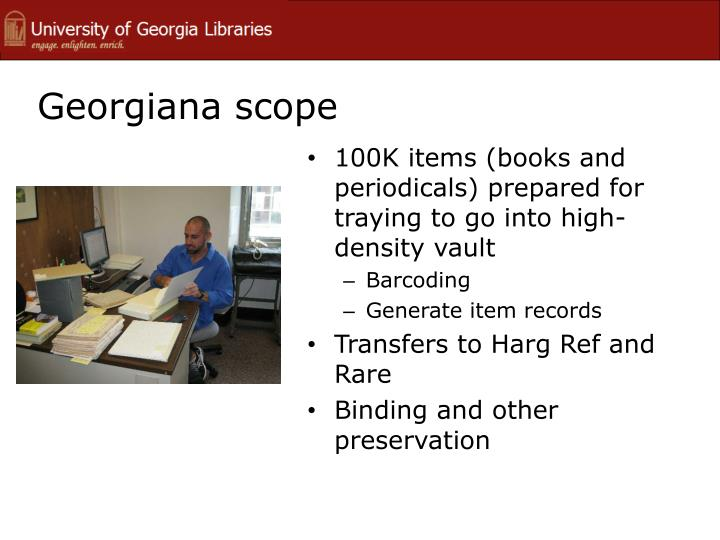 Georgiana scope