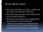 child abuse data