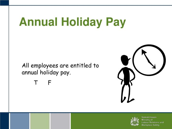 Annual Holiday Pay
