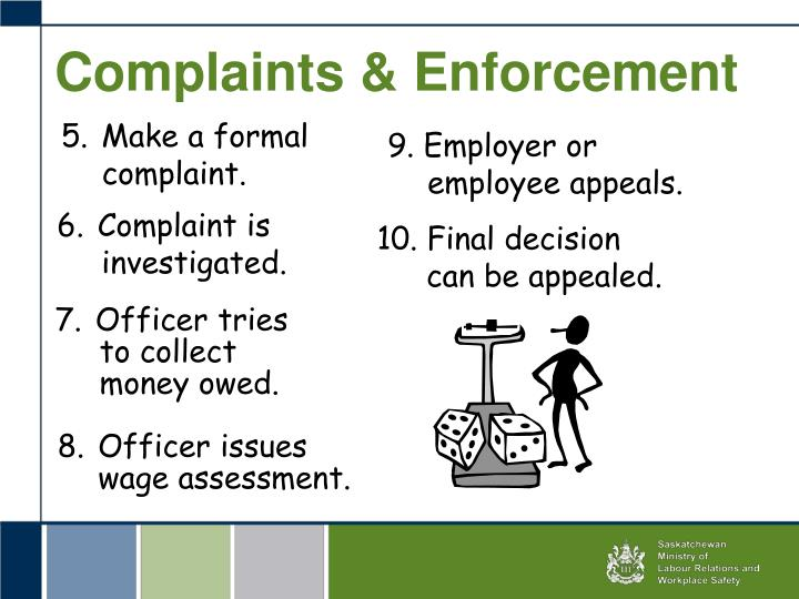 Complaints & Enforcement
