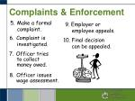 complaints enforcement3