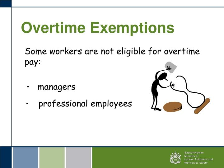 Overtime Exemptions