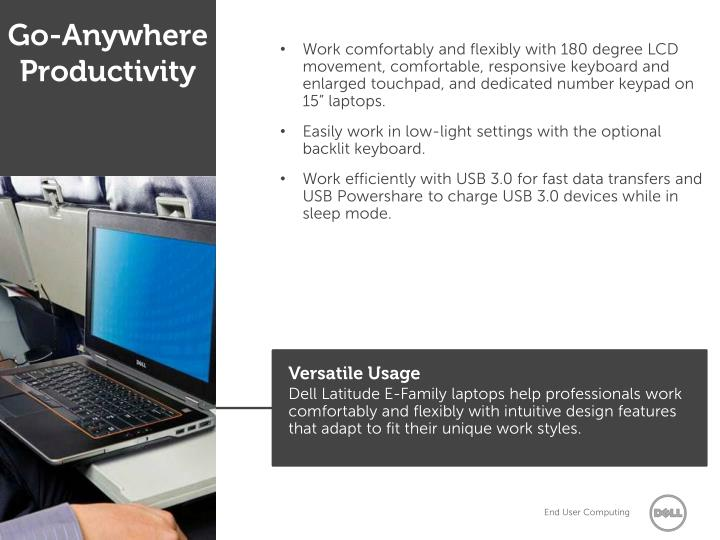 Go-Anywhere Productivity