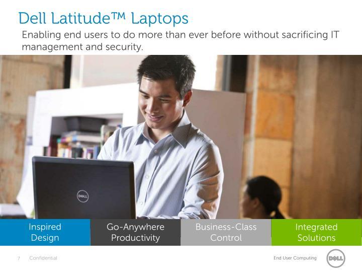 Dell Latitude™ Laptops
