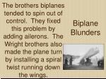 biplane blunders