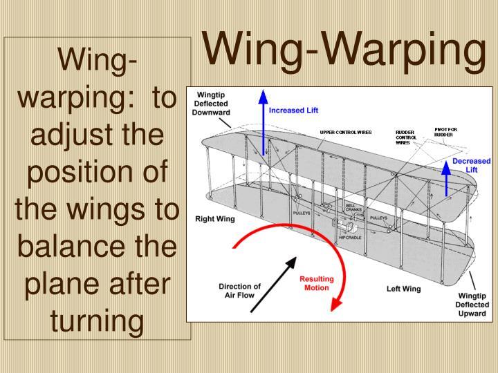 Wing-Warping