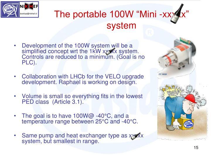 """The portable 100W """"Mini -"""
