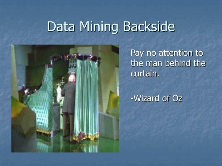 Data Mining Backside