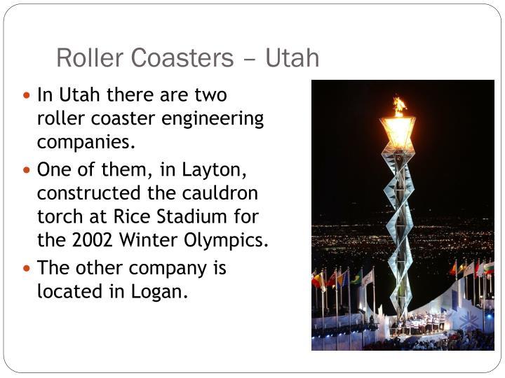 Roller Coasters – Utah