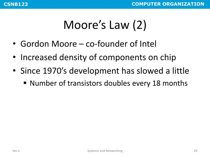 Moore's Law (2)