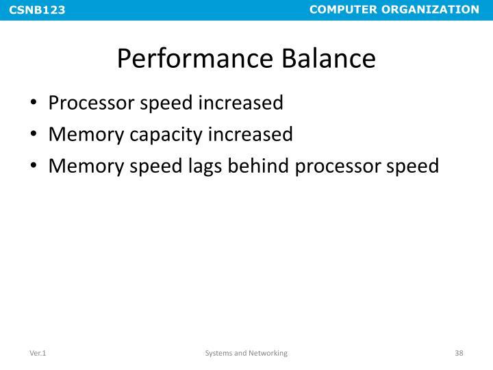 Performance Balance