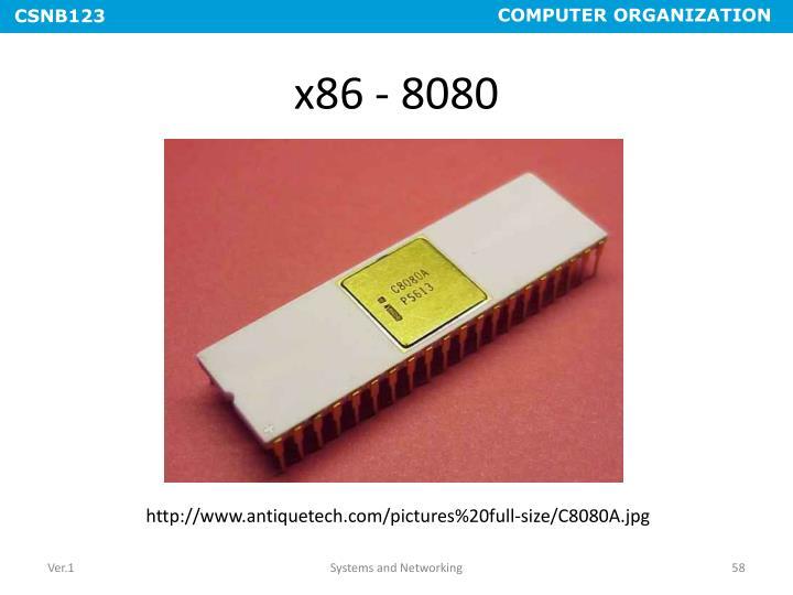 x86 - 8080