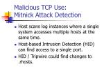 malicious tcp use mitnick attack detection1