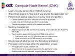 compute node kernel cnk