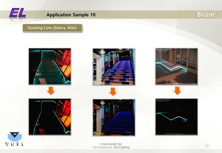Application Sample 10