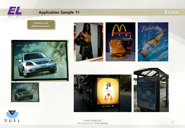 Application Sample 11