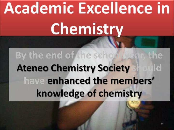 Academic Excellence in Chemistry