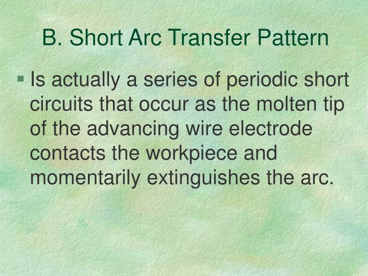 B. Short Arc Transfer Pattern