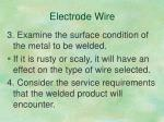 electrode wire2
