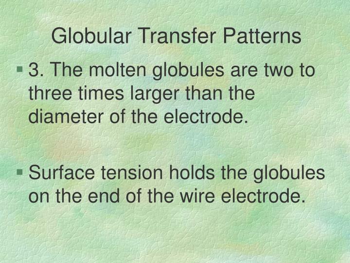 Globular Transfer Patterns