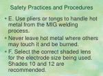 safety practices and procedures4