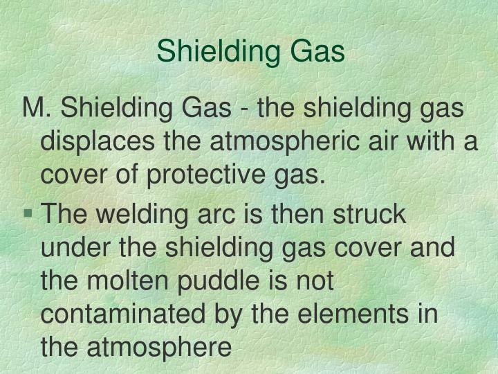 Shielding Gas
