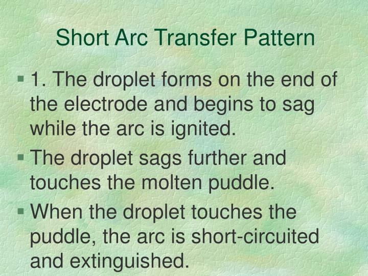 Short Arc Transfer Pattern