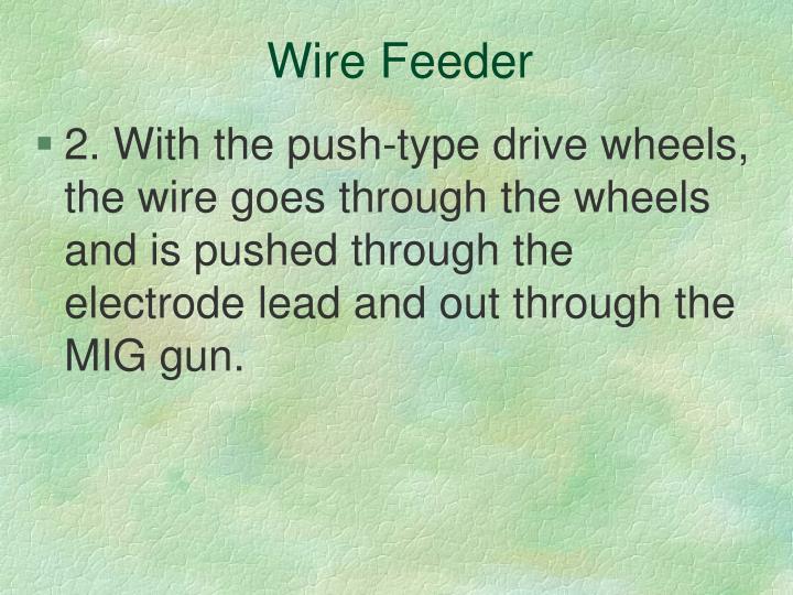 Wire Feeder