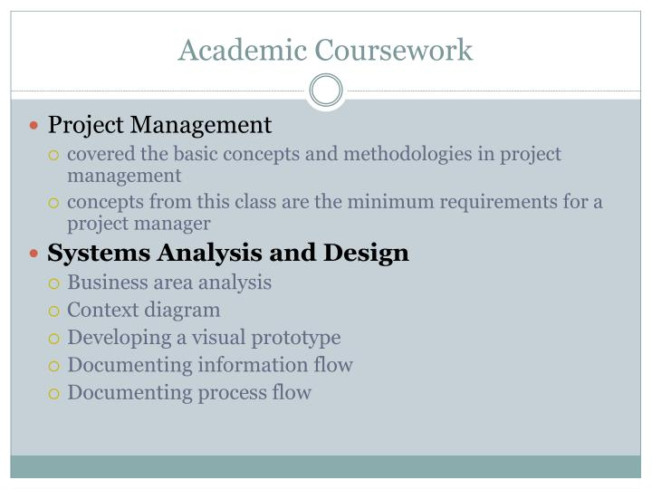Academic Coursework