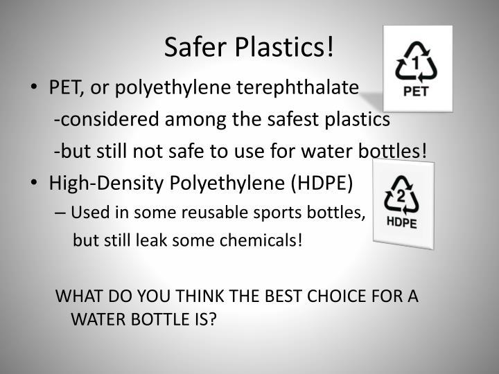 Safer Plastics!
