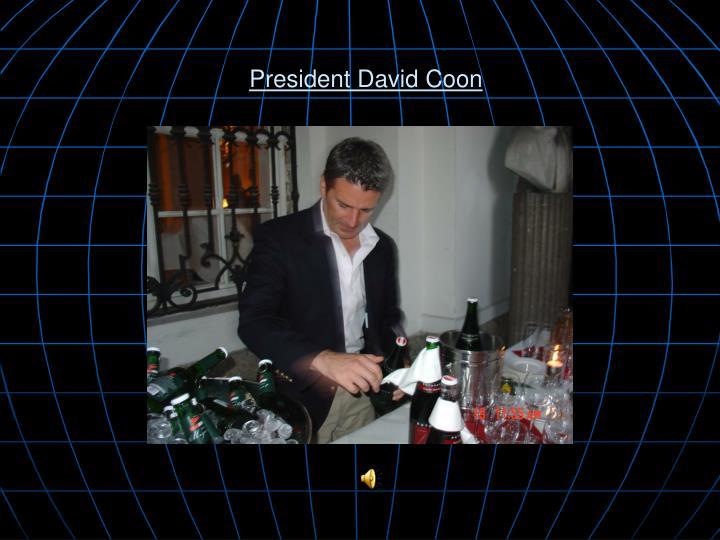 President David Coon