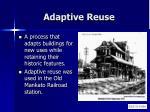 adaptive reuse