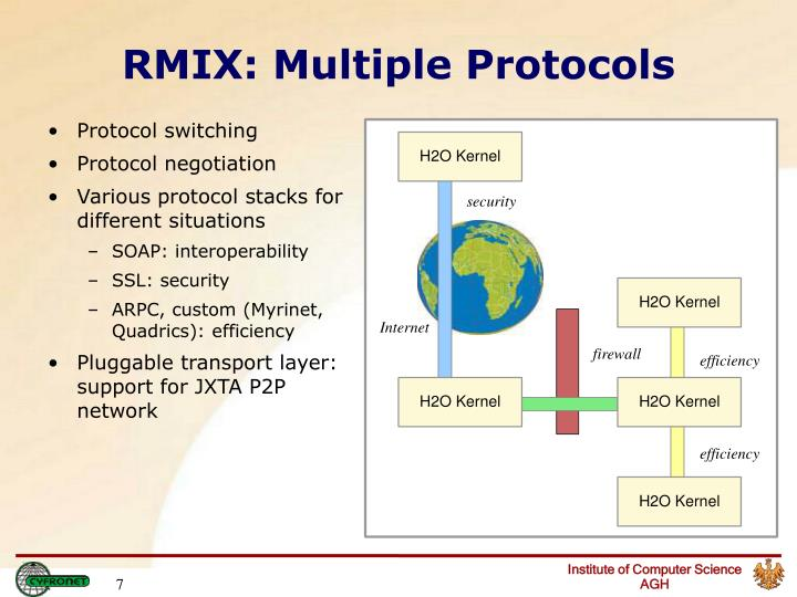 RMIX: Multiple Protocols