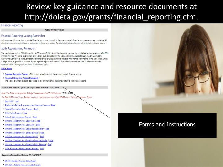 Review key guidance and resource documents at