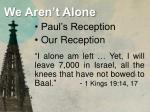 we aren t alone1