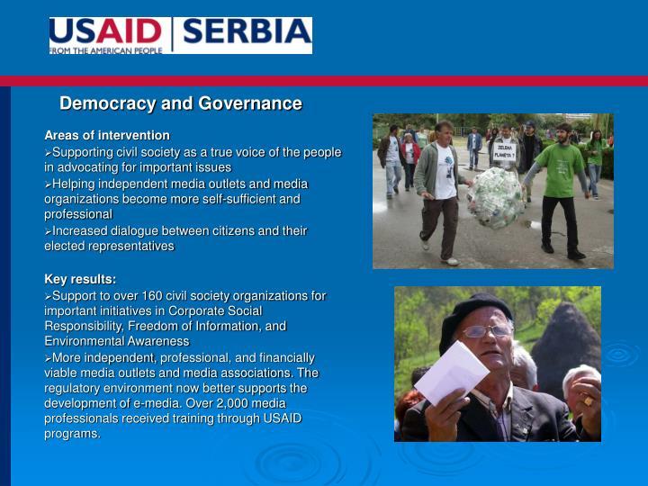 Democracy and Governance