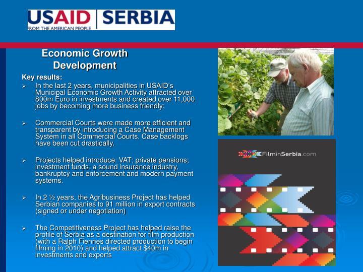 Economic Growth Development