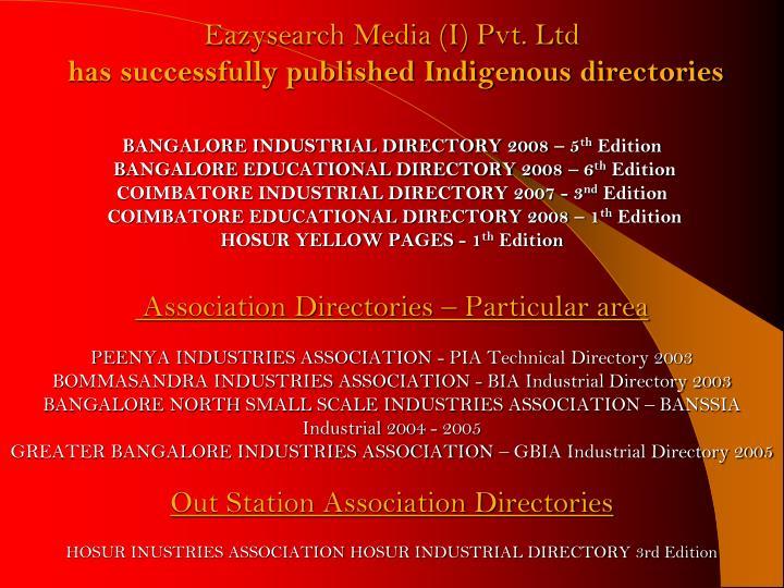 Eazysearch Media (I) Pvt. Ltd