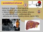 acetaldehyd ethanal