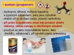 aceton propanon