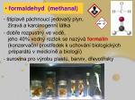 formaldehyd methanal