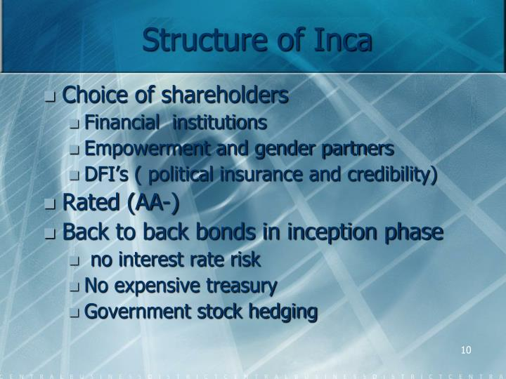 Structure of Inca