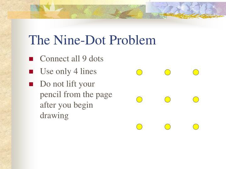 The Nine-Dot Problem